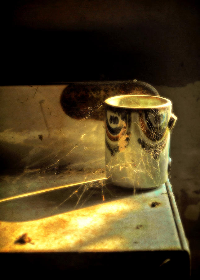 Abandoned Photograph - Take A Sip by Emily Stauring