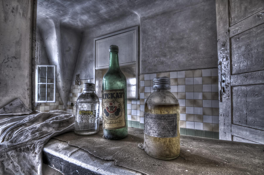 Urbex Photograph - Take Your Soviet Medicine by Nathan Wright