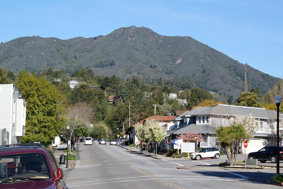 Tamalpais From Mill Valley Photograph  - Tamalpais From Mill Valley Fine Art Print