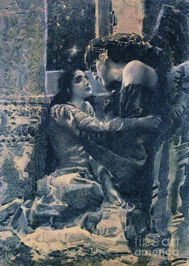 Tamara And The Demon Painting