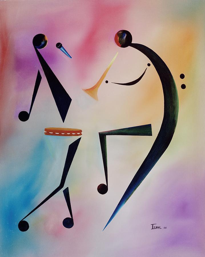Tambourine Jam Painting