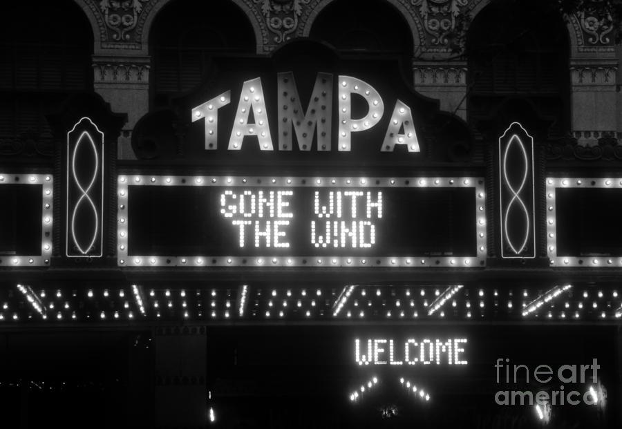 Tampa Theatre 1939 Photograph