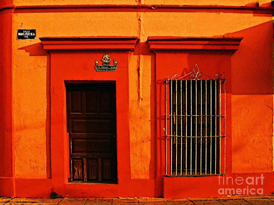 Tangerine Casa By Michael Fitzpatrick Photograph