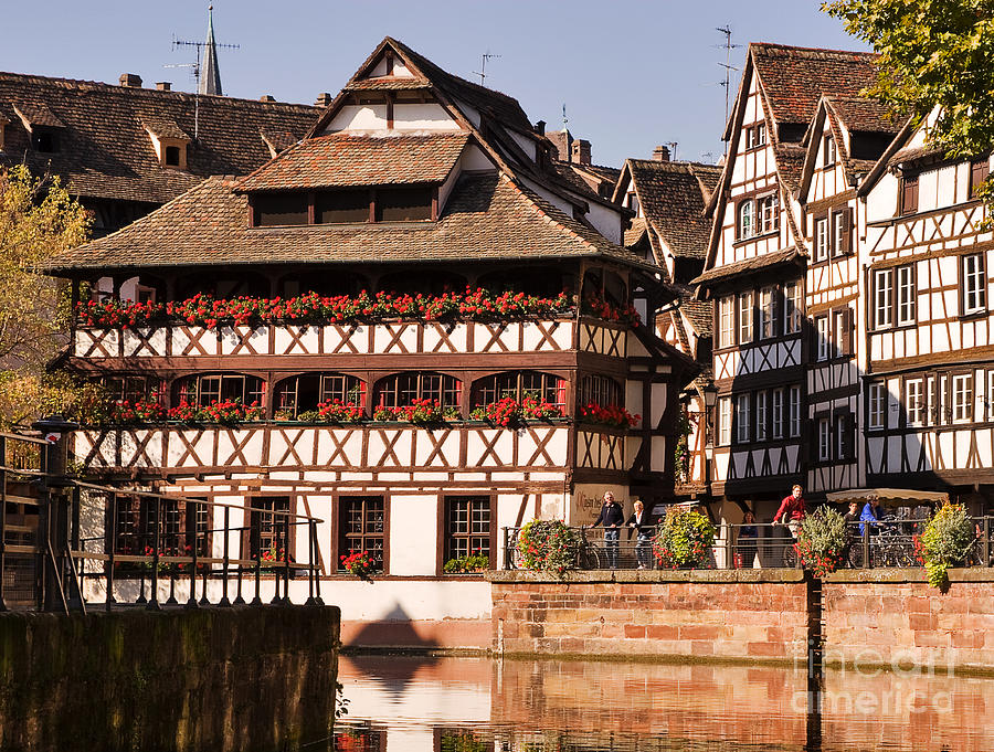 Tanners House Strasbourg Photograph