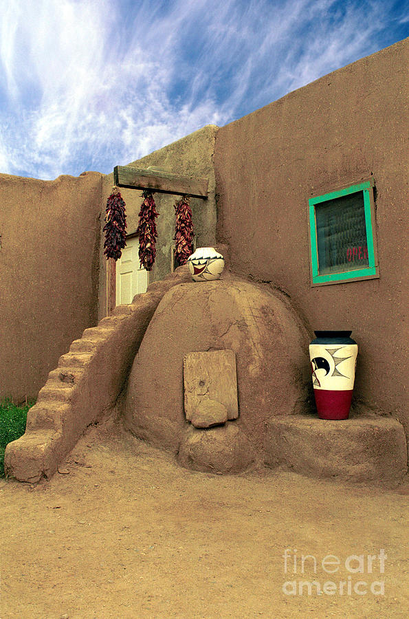 Taos Oven Photograph