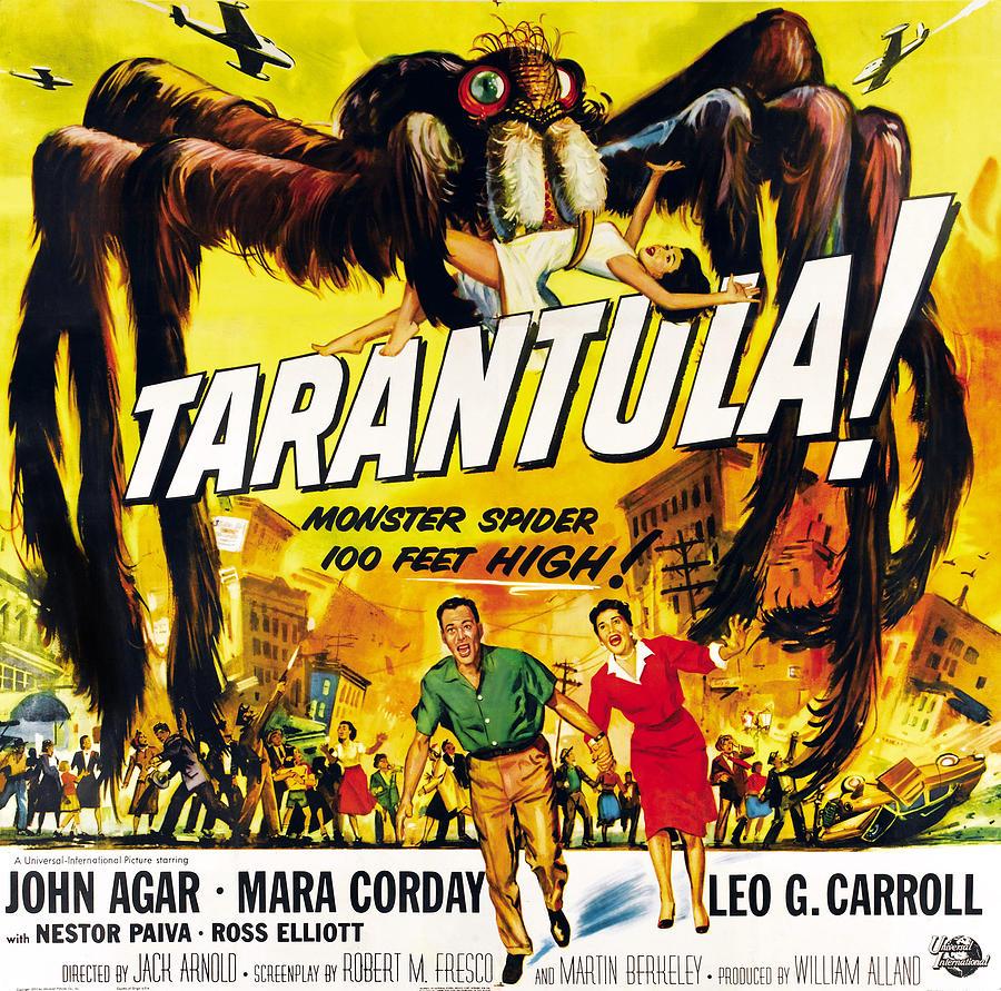 1950s Poster Art Photograph - Tarantula, Bottom From Left John Agar by Everett