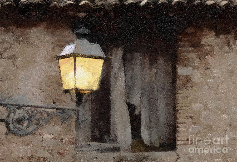 Tavern In The Town Mixed Media  - Tavern In The Town Fine Art Print