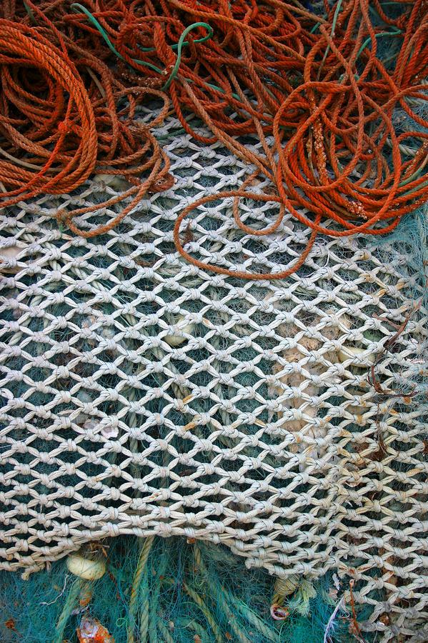 Tavira Nets Photograph