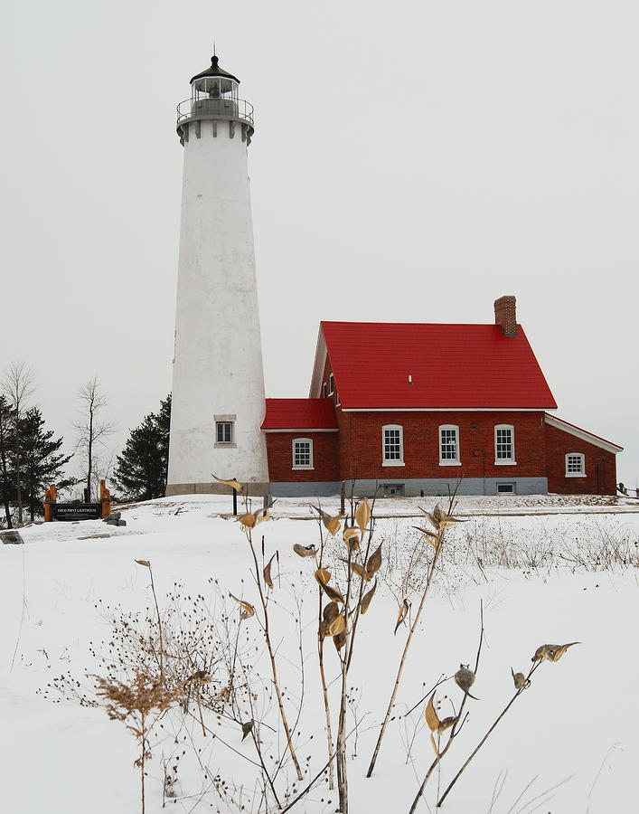 Tawas Point Lighthouse Photograph