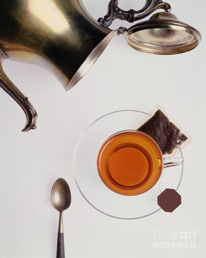 Tea For One Photograph  - Tea For One Fine Art Print