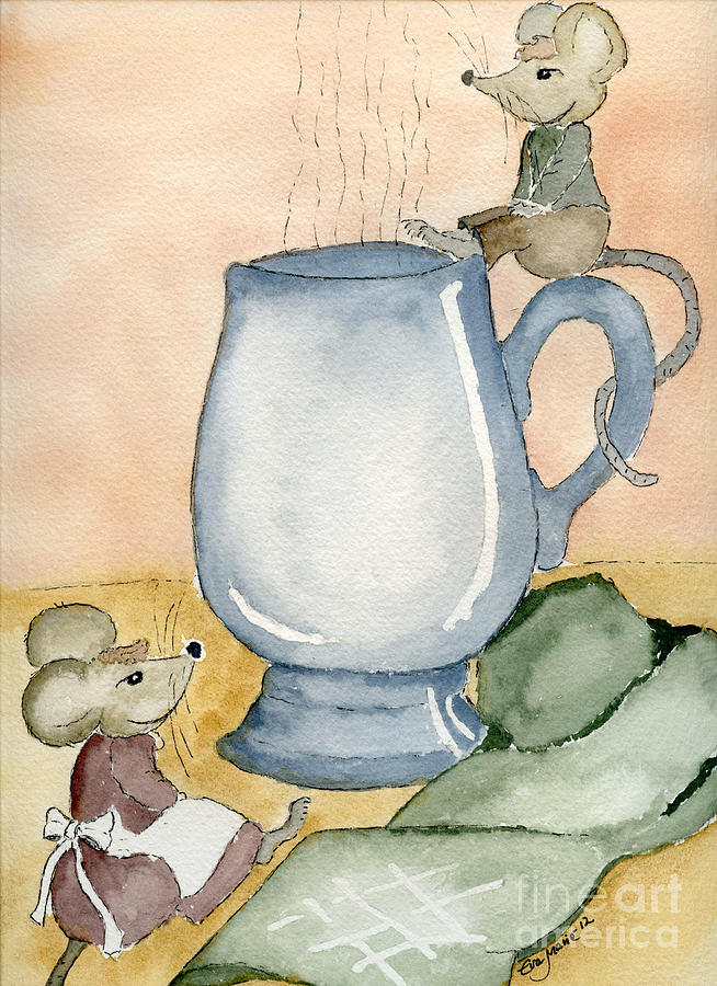 Tea For Two Painting  - Tea For Two Fine Art Print