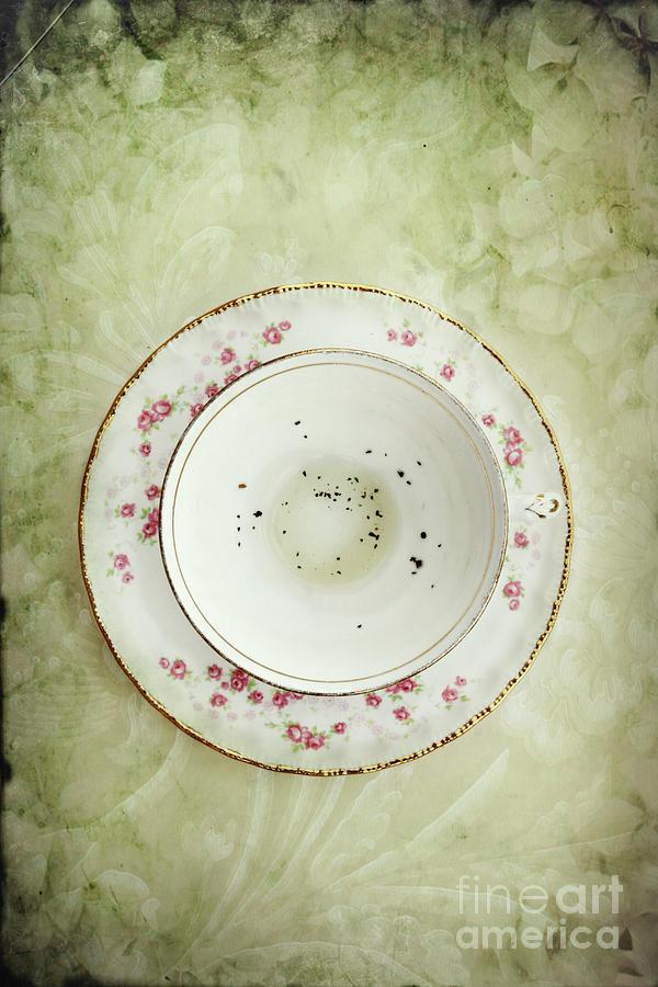 Tea Leaves Photograph