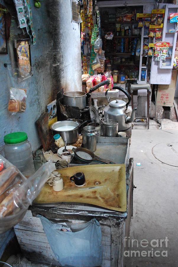 Tea Stall Photograph