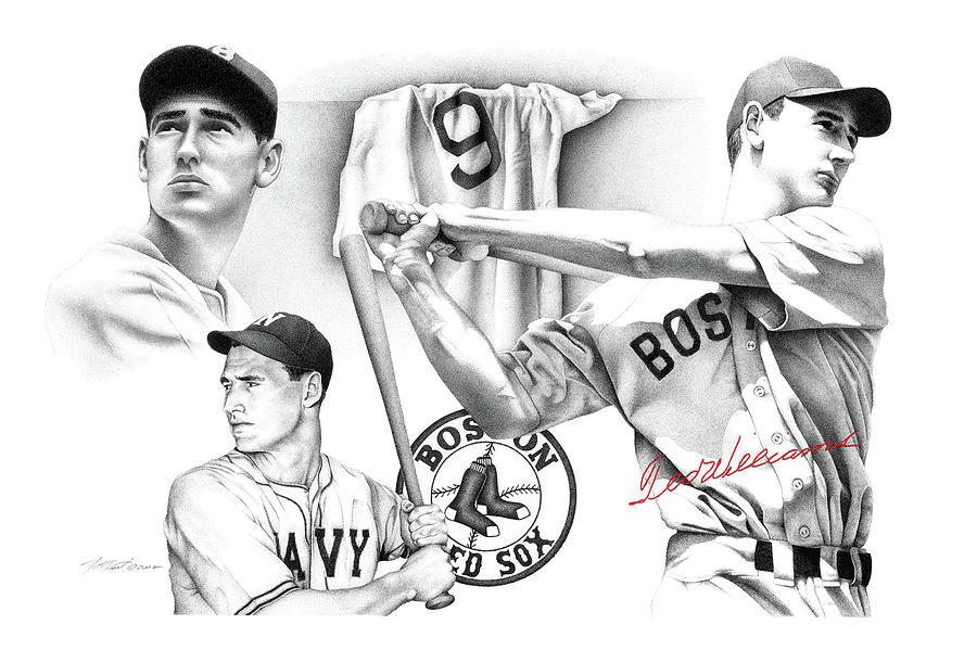Ted Williams Drawing