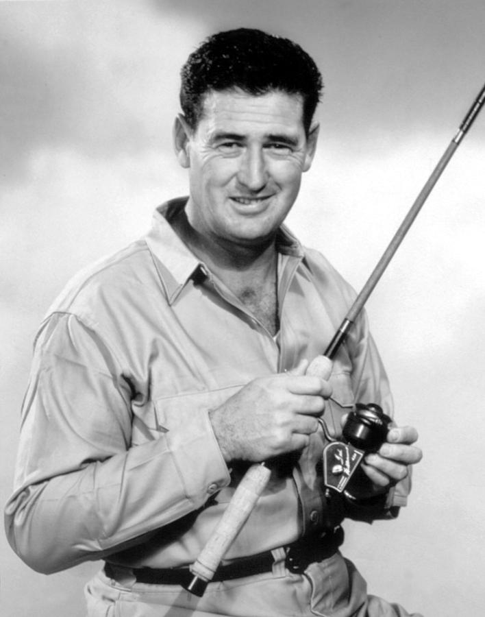 Ted Williams, With His Signature Photograph