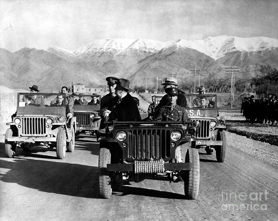 Tehran Conference, 1943 Photograph
