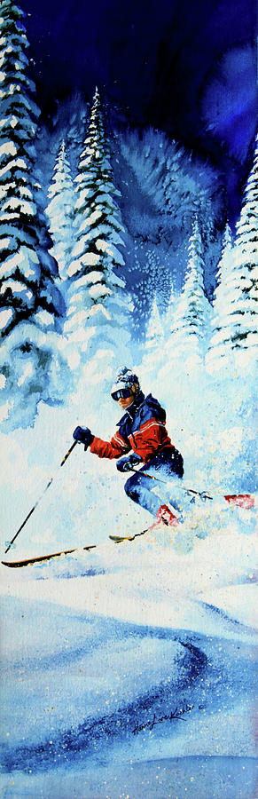 Telemark Trails Painting  - Telemark Trails Fine Art Print