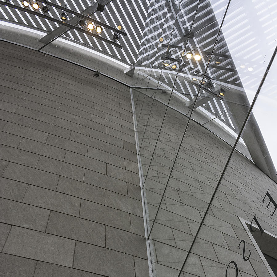 Telfair Glass And Louver Details Photograph