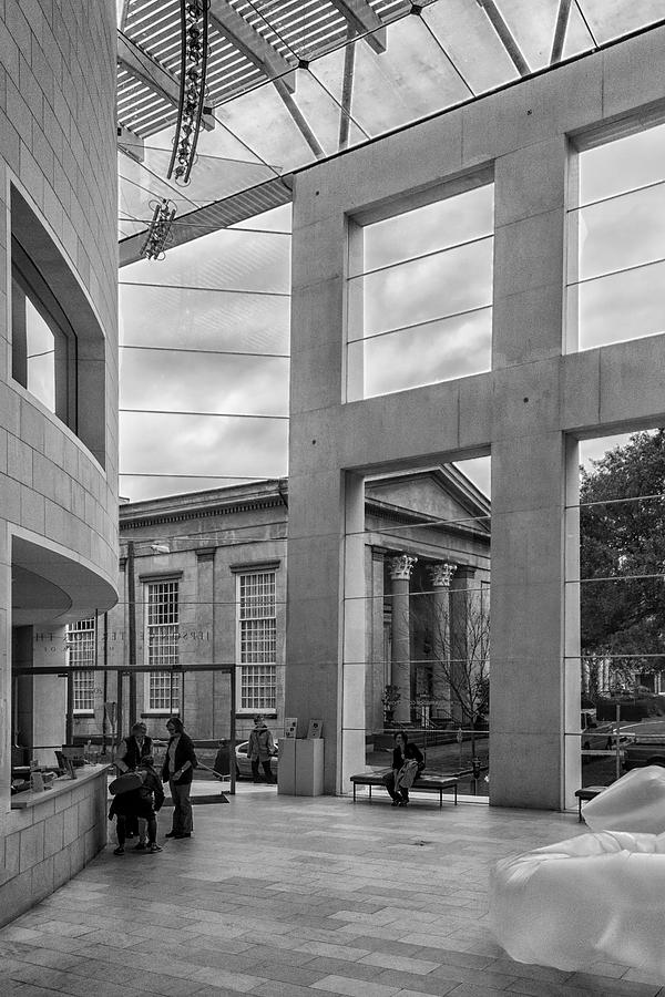 Telfairs Jepson Center Lobby Photograph  - Telfairs Jepson Center Lobby Fine Art Print