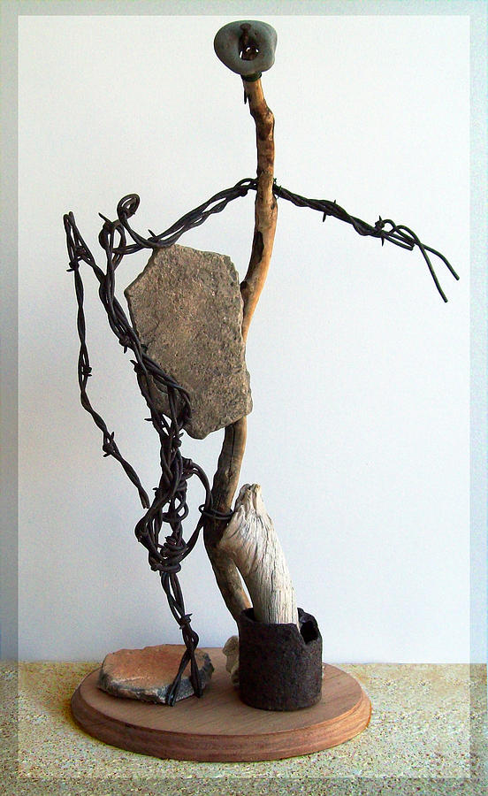 Sculpture Sculpture - Tell Me About It by Snake Jagger