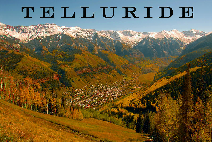 Telluride Colorado Photograph  - Telluride Colorado Fine Art Print