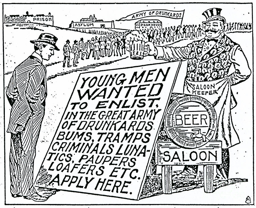 an overview of the temperance movement of the 1800s The influence of the temperance movement culminated in 1920 in prohibition, a period during which the sale of alcohol was illegal many temperance movements that emerged in the united states included men and women from varying ethnic, religious, social, economic, and political groups.