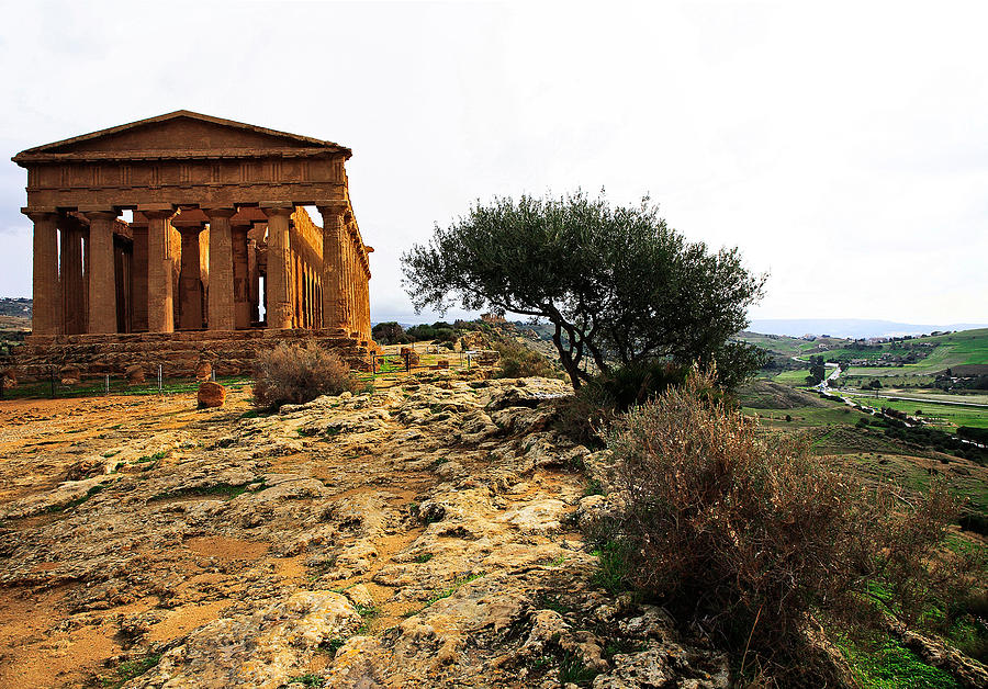 Temple Of Concordia 2 Photograph
