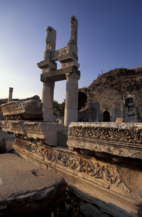 Temple Of Domitian In Ephesus, Turkey Photograph