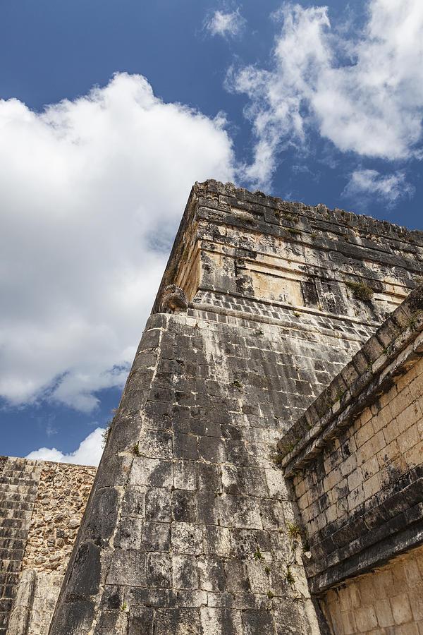 Templo De Los Jaguares Photograph