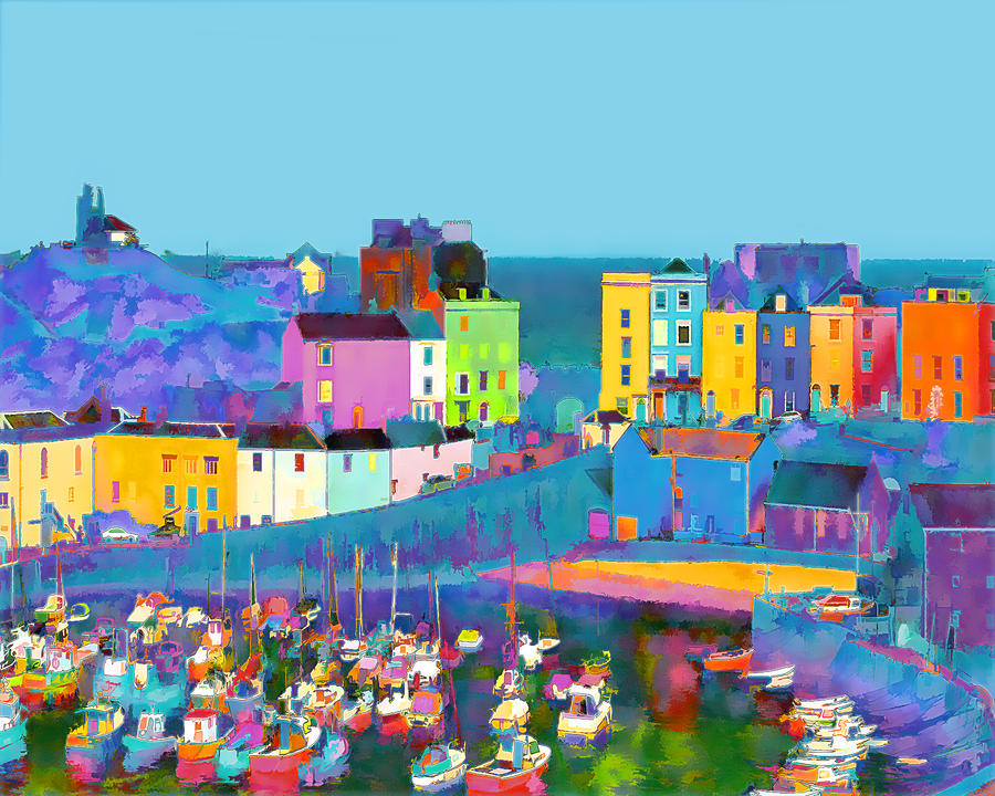 Tenby Harbour  I Photograph