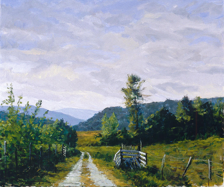 Tennessee Farm Painting  - Tennessee Farm Fine Art Print