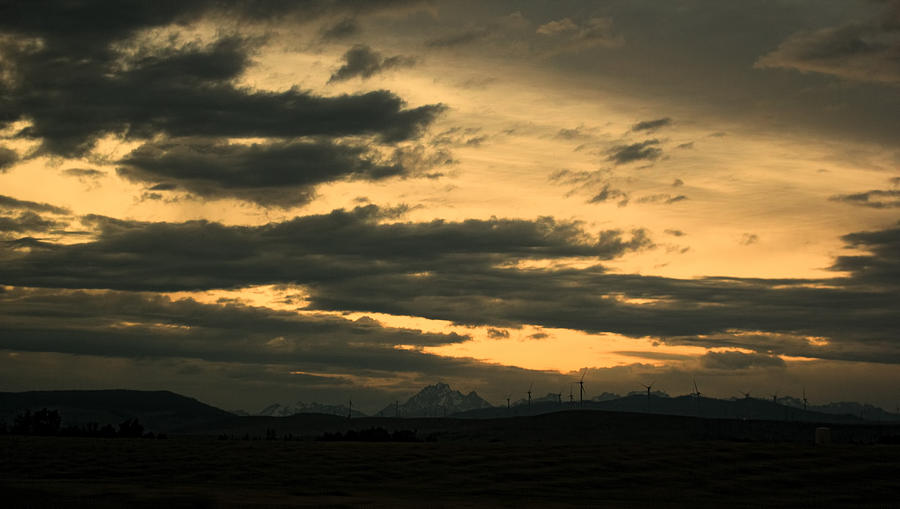 Sky Photograph - Terminous by James Heckt
