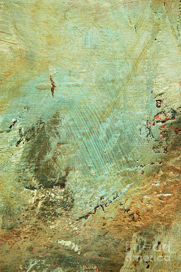 Terra Firma Abstract Painting  - Terra Firma Abstract Fine Art Print