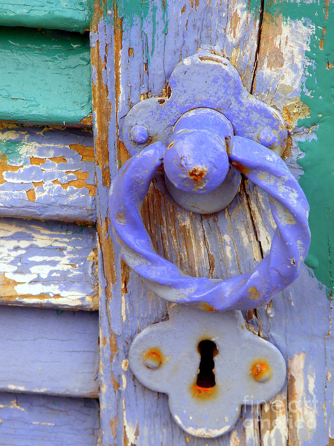 Door Photograph - Terrace Door by Lainie Wrightson