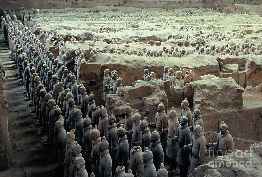 Terracotta Warriors Photograph