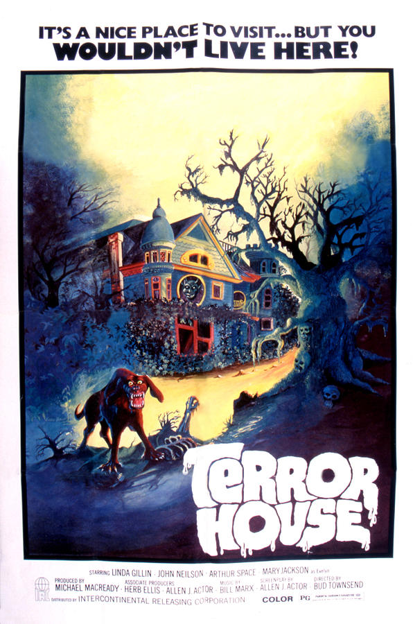 Terror House Aka Club Dead Terror At Photograph  - Terror House Aka Club Dead Terror At Fine Art Print