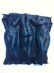 Leather Sculptures Sculpture - Terzetto by Leather Sculptor Paula Orrego Pizarro