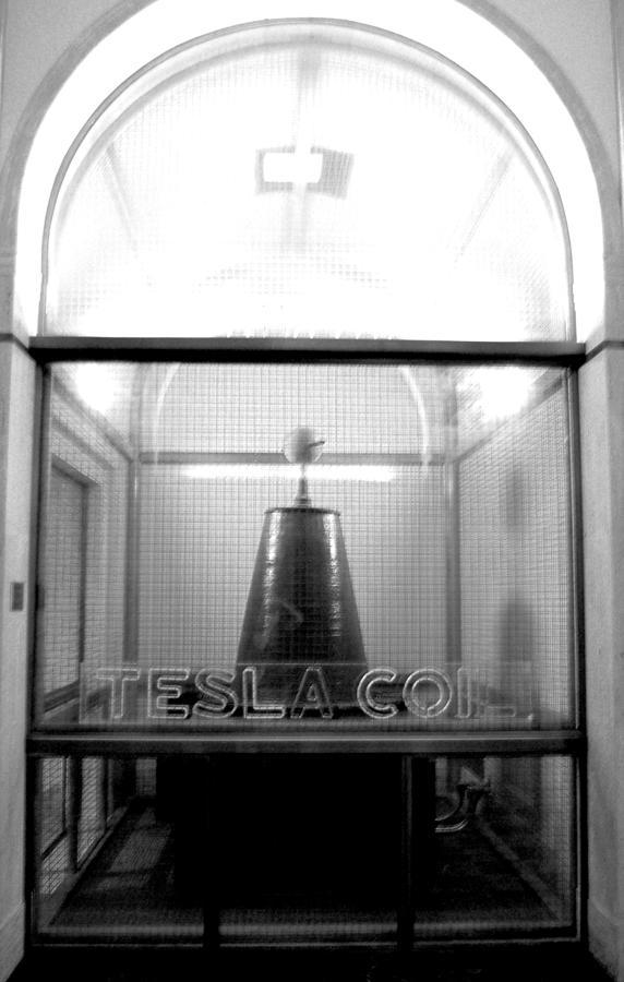 Tesla Coil Photograph