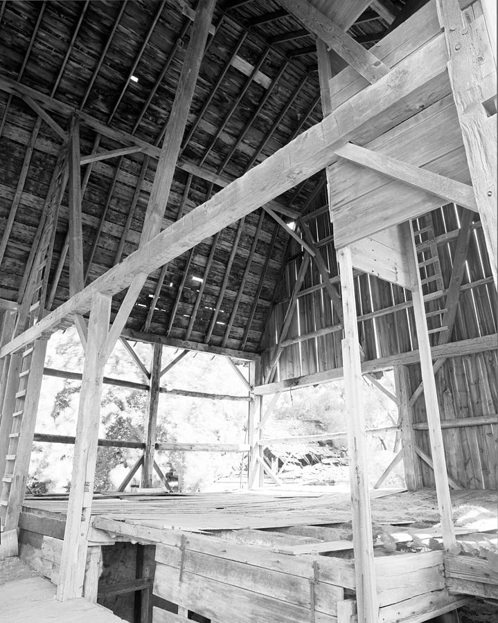 19th Century Farming Photograph - Tessman Barn Waukesha by Jan W Faul