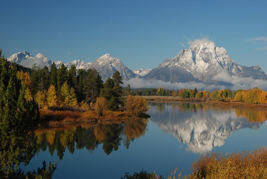 Teton Autumn Photograph