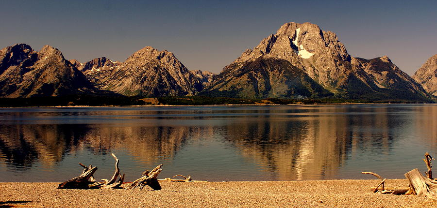 Teton Panoramic Photograph  - Teton Panoramic Fine Art Print