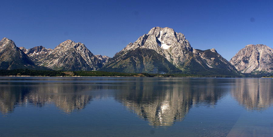 Teton Panoramic View Photograph
