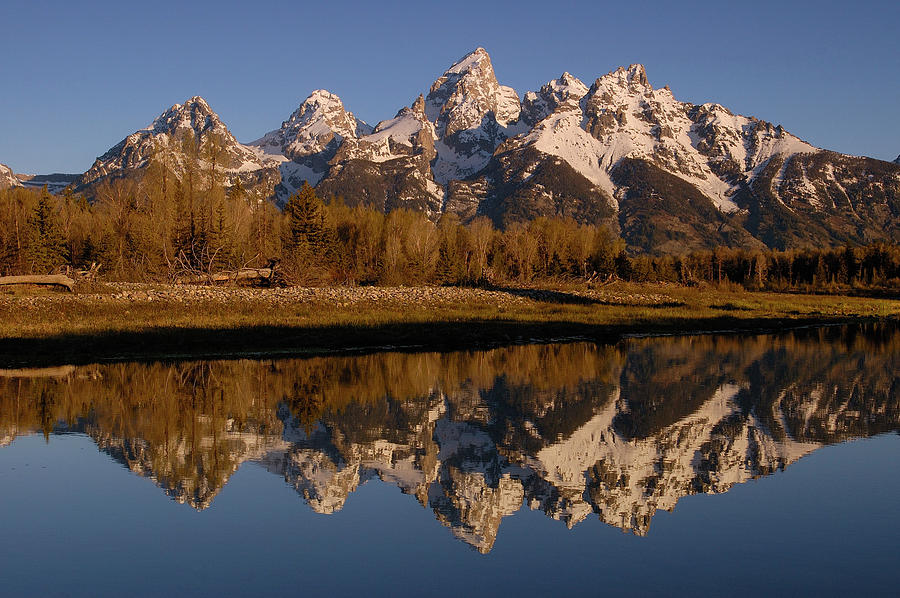 Teton Range, Grand Teton National Park Photograph  - Teton Range, Grand Teton National Park Fine Art Print
