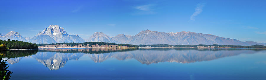 Teton Reflections Photograph  - Teton Reflections Fine Art Print