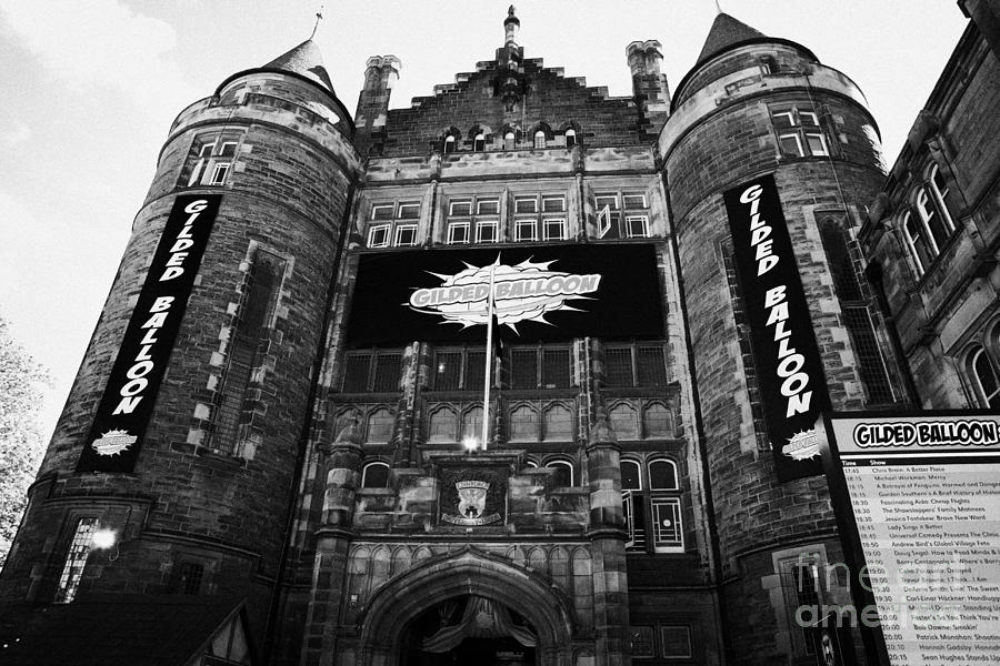 Teviot Row House Students Union For The University Of Edinburgh Photograph  - Teviot Row House Students Union For The University Of Edinburgh Fine Art Print