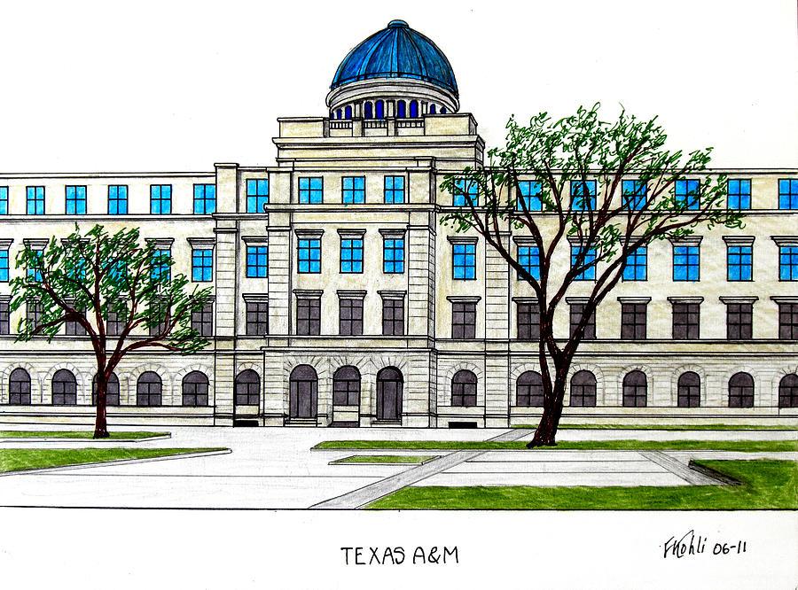Texas Am University Drawing