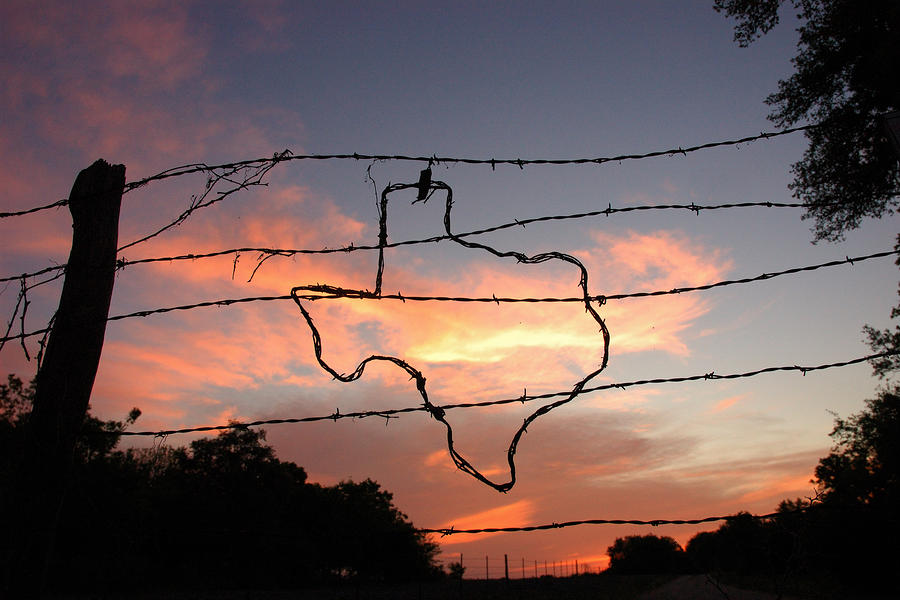 Texas Sunset Photograph  - Texas Sunset Fine Art Print