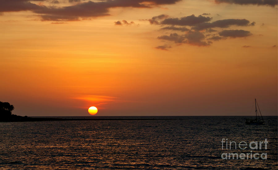 Thai Sunset Photograph  - Thai Sunset Fine Art Print