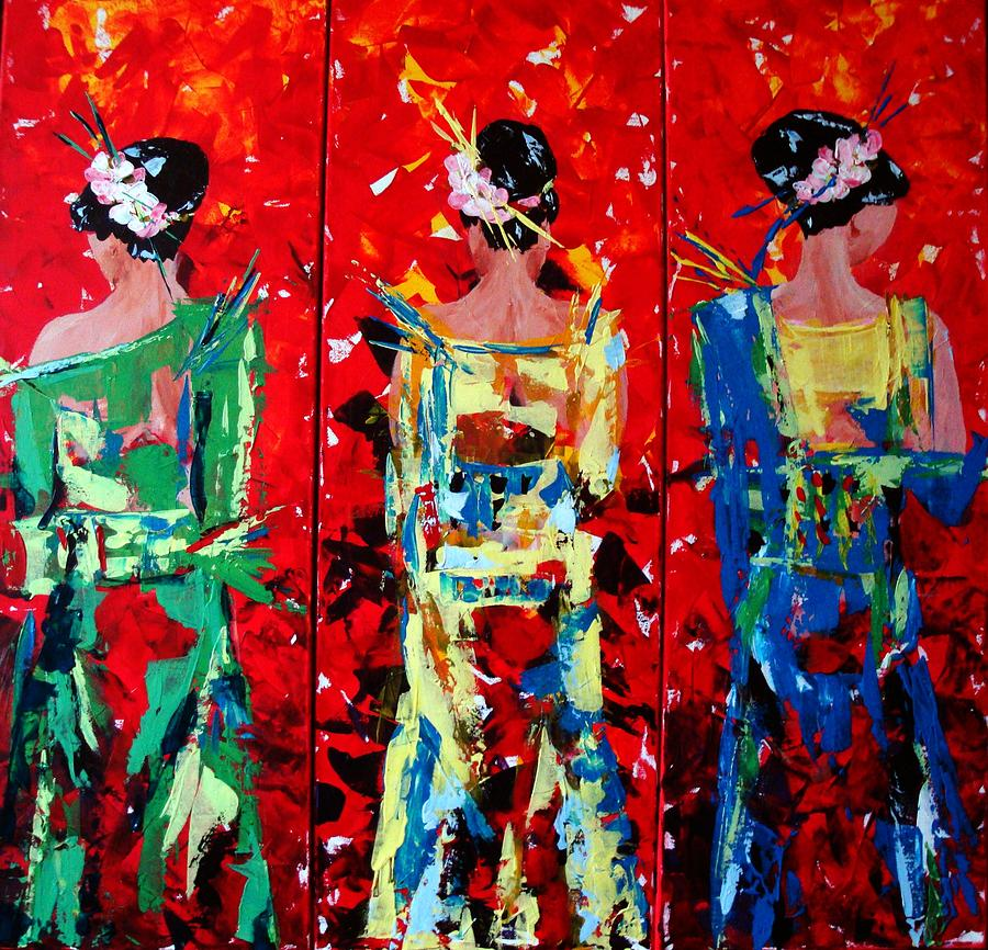 Thaiperlen Painting