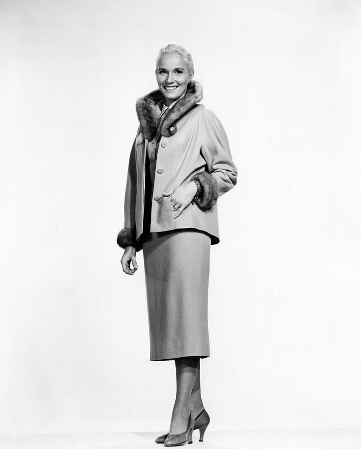 1950s Fashion Photograph - That Certain Feeling, Eva Marie Saint by Everett